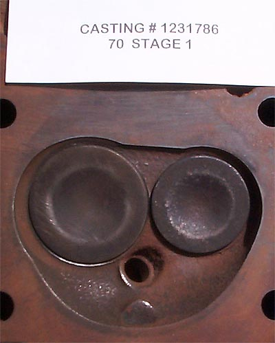 455 Head Comaparison, 455, Stage1 and Stage2