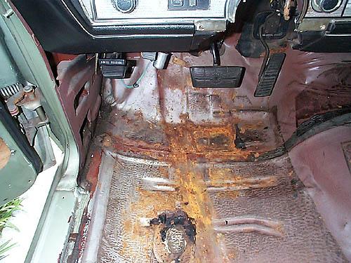 not installing rubber mats