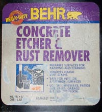 how to use phosphoric acid to remove rust